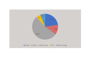 12 Cement capacity shares in Vietnam