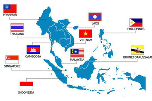 1 Map of the ASEAN countries