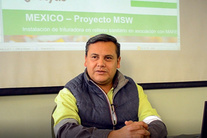 1 Geocycle Mexico's Operations Manager Esteban Heredia particularly appreciates the high productivity and output quality of the Polaris