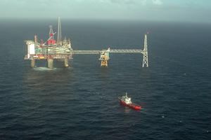 9 Sleipner oil field with CO<sub>2</sub>-storage; CC BY-SA 3.0