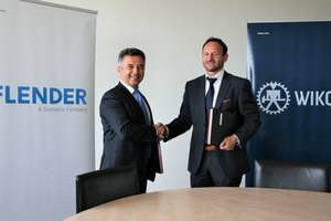 "<div class=""bildtext_en"">Antonín Růžička, Managing Director of Wikov (right) and Nevzat Özcan, General Manager Flender Customer Service look forward to the cooperation</div>"