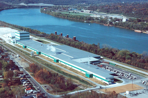 10 Wallboard factory in Silver Grove, USA