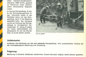 2 Safety Bulletin No.1 from 1972 (left) and Safety Checklist No. 1 from 1979 (right)