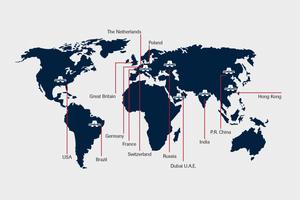 Aumund spanning the globe
