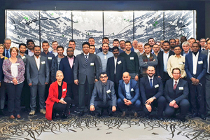 65 participants from  22 nations came to the  Losche Training Center  in Duesseldorf