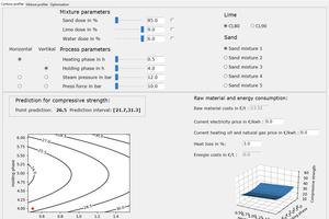 10 SPOAK screenshot of the user interface: contour analysis (Contour profiler)