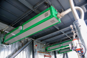 2 CemCat SCR dust cleaning system
