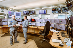 6 The investment in a new control centre in Wietersdorf is part of the ongoing digitalization of the plant