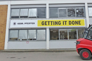 "2 Every Pfeiffer machine is manufactured under the motto: ""Getting it done!"""