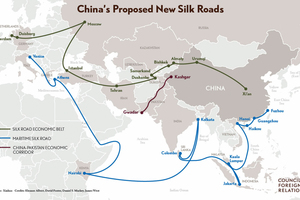 1 Belt and road initiative illustration, 30.01.2017