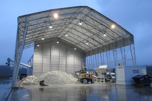 15 Gypsum recycling plant in Germany