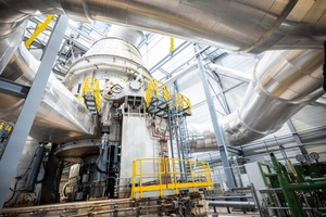 5 Vertical roller mill (VRM) for the grinding of blended cements