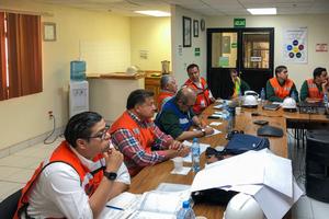 """<div class=""""bildtext_en"""">1 Mexicana de Cobre: Impressions from the kick-off-meeting</div>"""