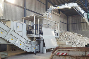 Recycling of gypsum plasterboard waste is becoming increasingly important