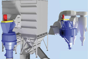 Upgrade with ICS or ICV high efficiency separator and cyclone separation