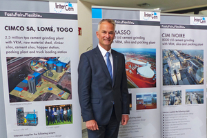 Olaf Michelswirth, General Manager of Intercem Engineering GmbH, presents the latest Intercem projects
