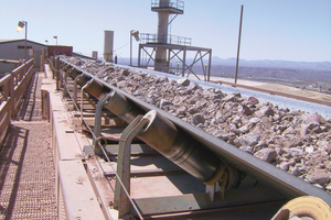 A belt conveyor is a large, complex and powerful system