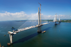 The Queensferry Crossing in Scotland