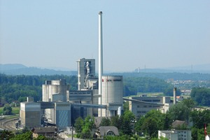"""<div class=""""bildtext_en"""">1 Cement factory of Jura-Cement-Fabriken AG (JCF) in Wildegg/CH</div>"""