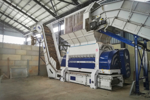 """<div class=""""bildtext_en"""">1 The treatment of local waste streams more than doubled with Lindner's Polaris 2800</div>"""