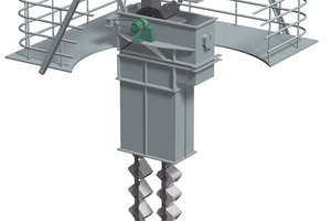 """<div class=""""bildtext_en"""">1 Chain bucket elevators are used to transport bulk materials vertically. Demanding environments like these often challenge system reliability and require unique, innovative chain solutions</div>"""