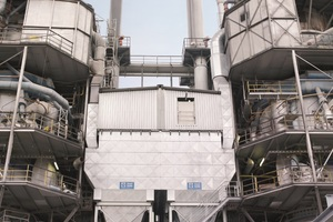 4 Dust removal system for ring-shaft kilns in the lime industry
