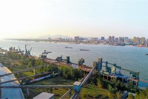 Jiangxi East Plant's dedicated Yangtze river wharf