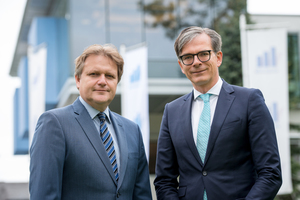 """<div class=""""bildtext_en"""">1 The two Managing Directors Hannes Gailer and Michael Junghans focus the Wietersdorfer Group on sustainability and digitalization (f.l.t.r)</div>"""