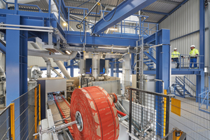 """<div class=""""bildtext_en"""">The quality cements are filled in a new, energy-efficient and state-of-the-art packaging plant at Opterra's Karsdorf plant</div>"""