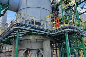 5 The installation of a state-of-the-art hot gas generator provides extreme fuel flexibility