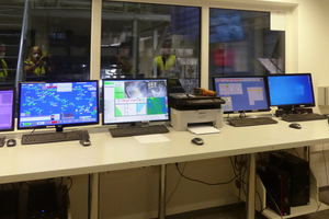 3 Laboratory for the control of contaminants in the material stream