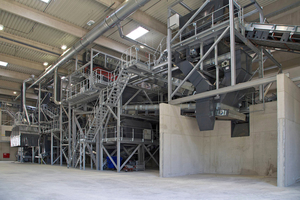Albbrennstoff GmbH in Allmendingen produces secondary fuels for cement production from plastic waste
