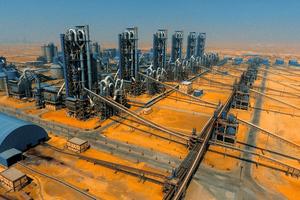 17 El Arish cement plant in Egypt
