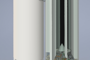 """<div class=""""bildtext_en"""">Layout of the new multi-cell silo </div>"""