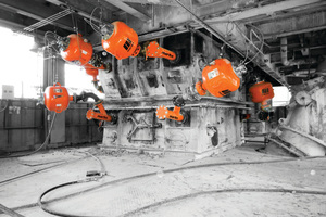 Air cannons are employed in a number of applications in cement production to resolve material flow issues
