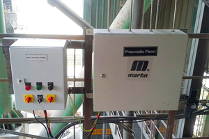 6 A solenoid box located far from heat and danger areas provides easy access