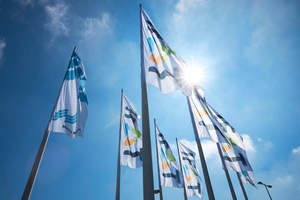 """<div class=""""bildtext_en"""">2 Exhibitors are already intensively preparing for IFAT </div>"""