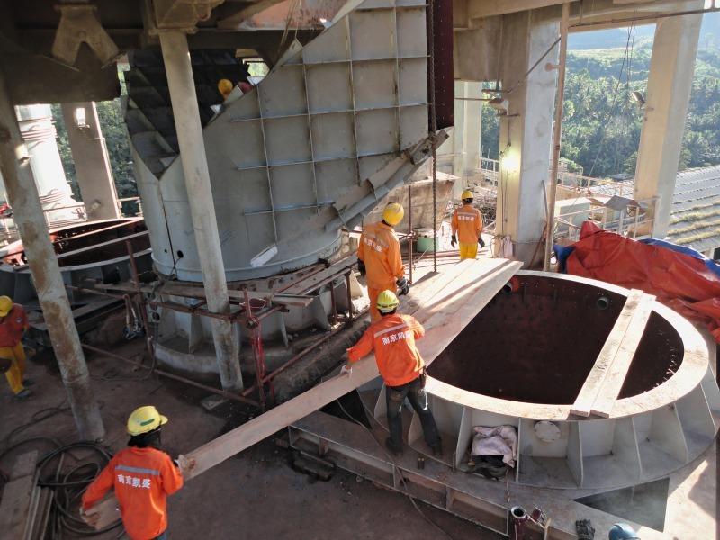 Cement Plant Preheater Cyclone Images : Lafarge s iligan preheater debottlenecking project