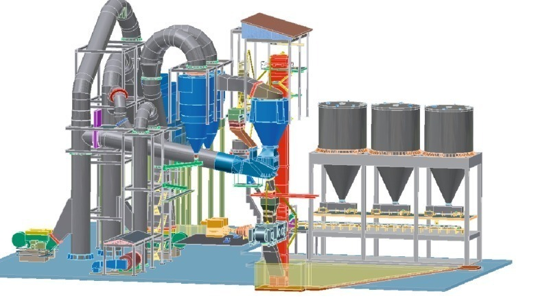 Cement Plant Grinding : High efficient cement manufacturing with polycom and