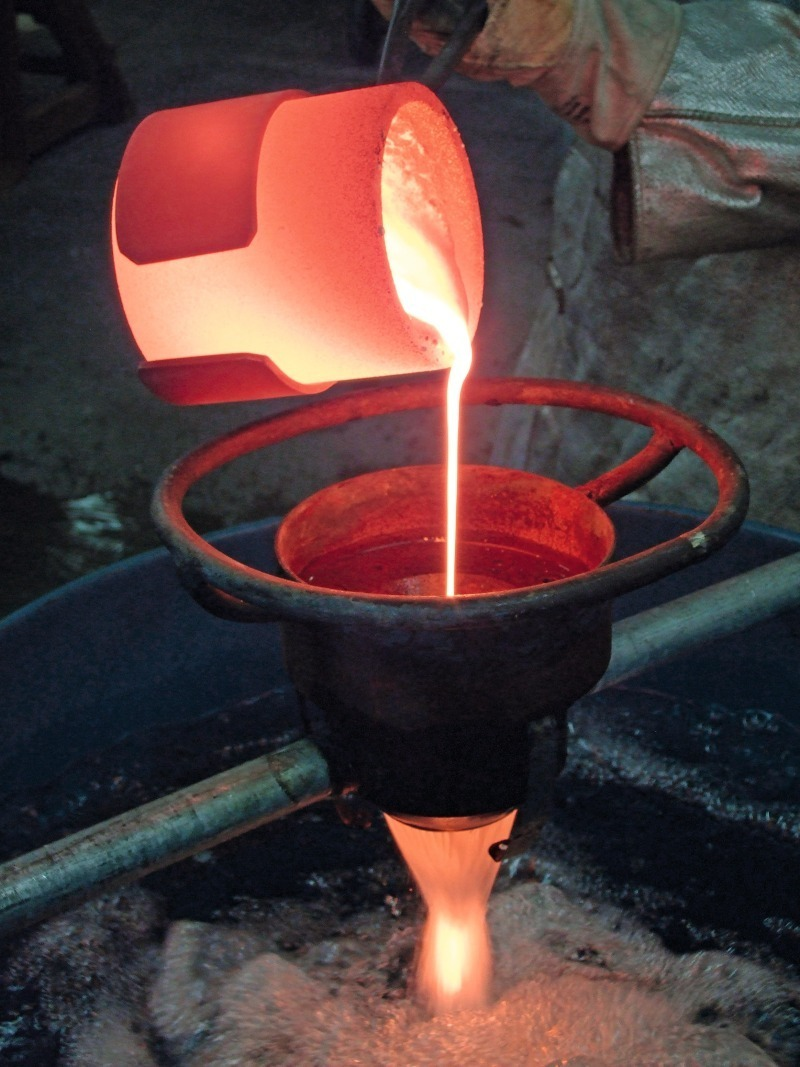 Blast Furnace Slag Glass : Influence of the granulation conditions and performance