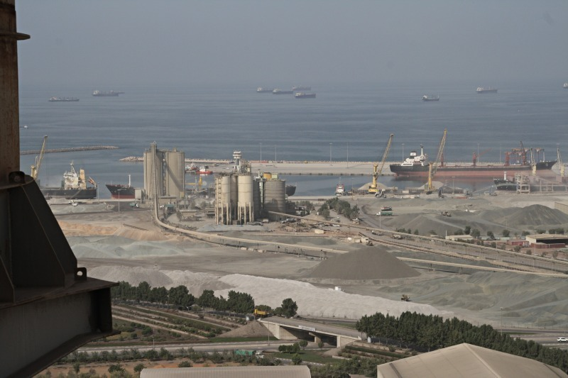 The biggest plant in the UAE - Cement Lime Gypsum