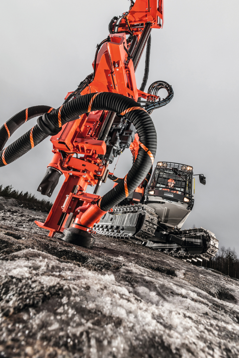 New drilling equipment – soft and hard - Cement Lime Gypsum