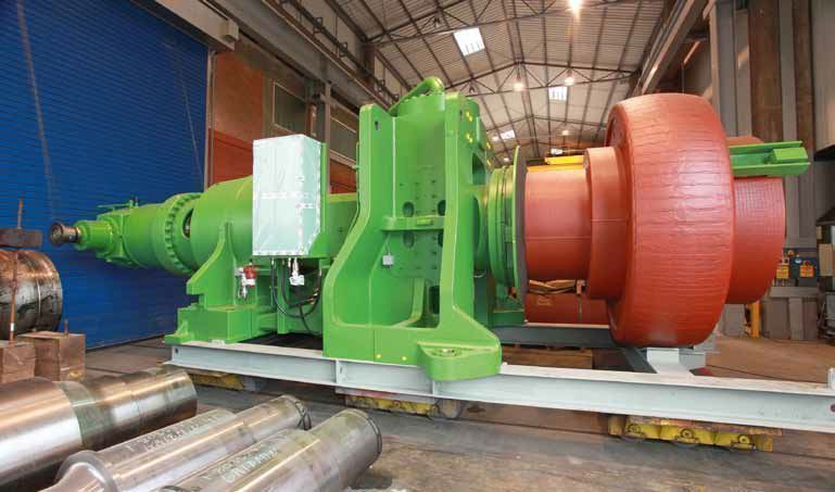 hydraulic system vertical roller mill operation