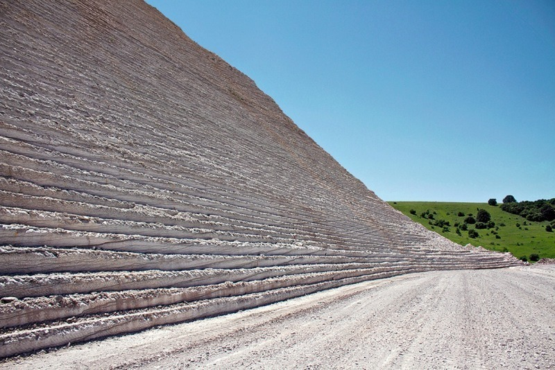 Wirtgen Surface Mining for selective limestone mining in the