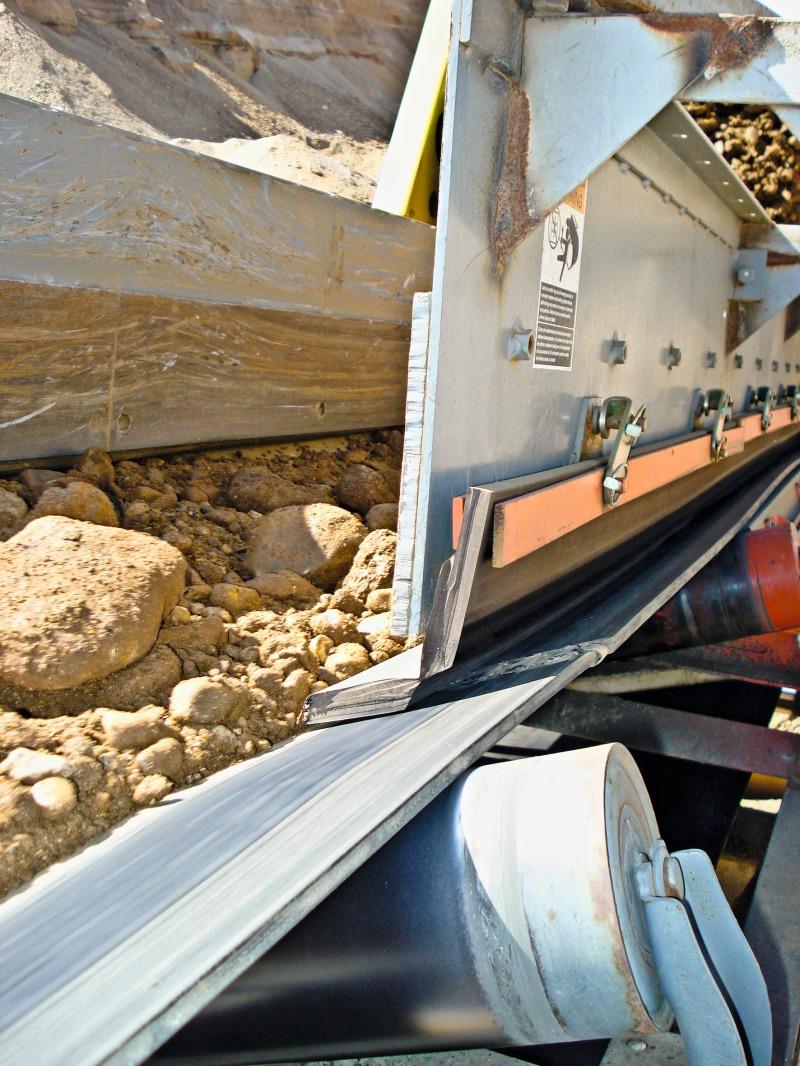 No More Shutdowns >> Self adjusting skirting for reduced conveyer belt maintenance - Cement Lime Gypsum