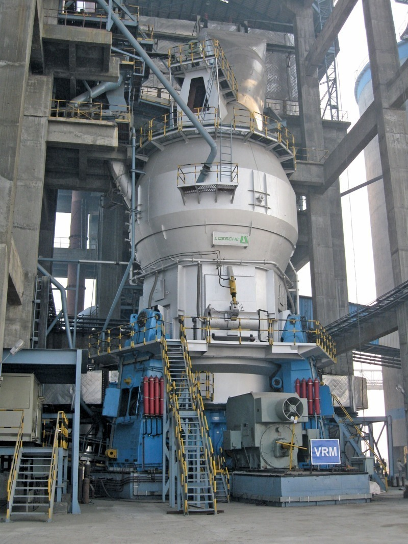 Roller Mill Cement Balls : Vertical roller mill for new greenfield cement plant in