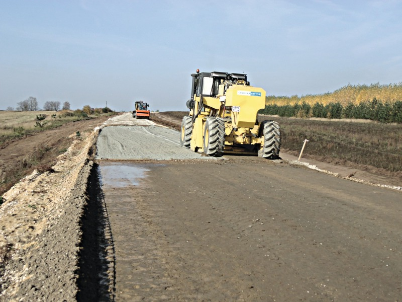 Soil With Gypsum Additives : Road soil cement with complex additives based on