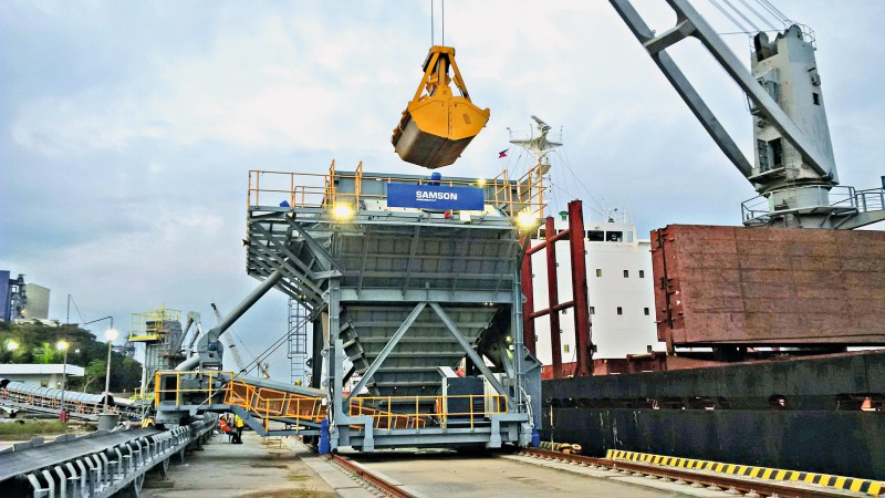 SeaInvest places order for a Samson Eco Hopper  Cement