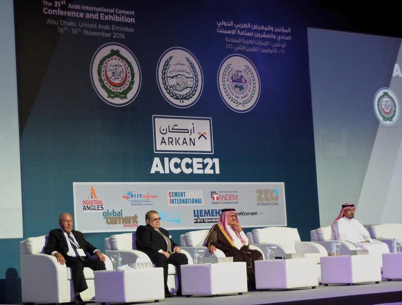 Arab cement industry met in Abu Dhabi - Cement Lime Gypsum