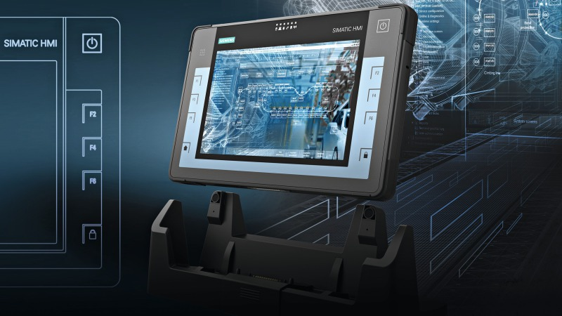 First tablet PC from Siemens: Rugged and geared for industrial